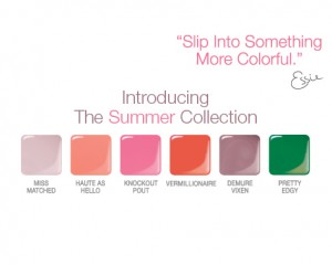 essie summer 2010 nail polish collection
