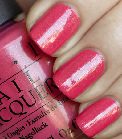 Opi Flower To Swatch From The Summer Flutter Collection