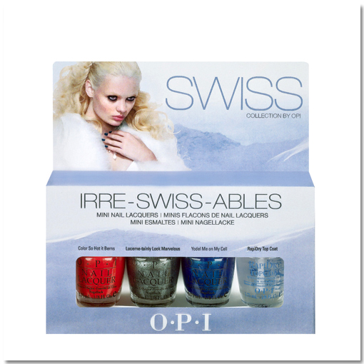 opi swiss collection irre swiss ables fall 2010 mini set OPI Swiss Collection for Fall 2010 Preview