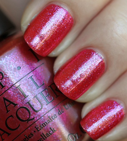opi wing it! swatch from the opi summer flutter collection