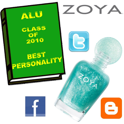 ALU BEST PERSONALITY 2010 ZOYA ALU Senior Superlatives Class of 2010 Winners