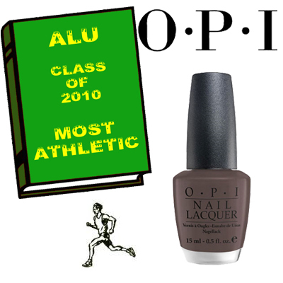 ALU MOST ATHLETIC 2010 OPI ALU Senior Superlatives Class of 2010 Winners