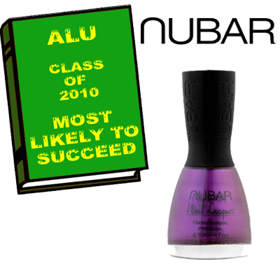 ALU MOST LIKELY TO SUCCEED 2010 NUBAR ALU Senior Superlatives Class of 2010 Winners