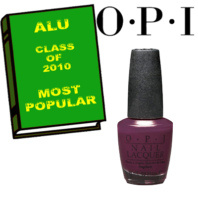 ALU MOST POPULAR 2010 OPI ALU Senior Superlatives Class of 2010 Winners