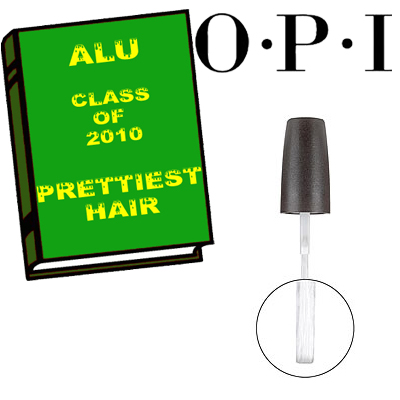 ALU PRETTIEST HAIR 2010 OPI ALU Senior Superlatives Class of 2010 Winners