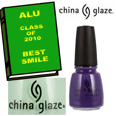 alu best smile 2010 china glaze ALU Senior Superlatives Class of 2010 Winners
