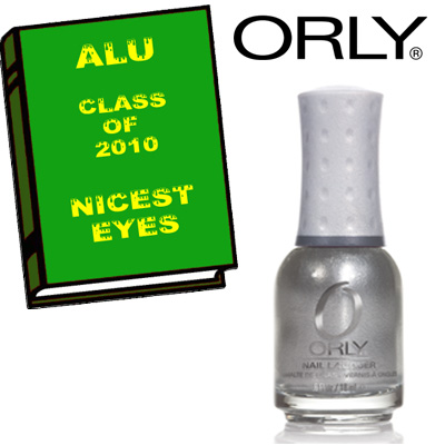 alu nicest eyes 2010 orly ALU Senior Superlatives Class of 2010 Winners