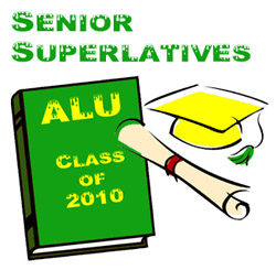 alu senior superlatives small ALU Senior Superlatives Class of 2010 Winners