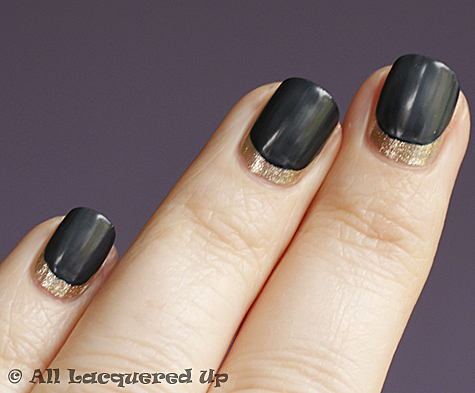 cnd ruffian nails inkwell super matte Get The Look   The CND Ruffian Matte Moon Manicure