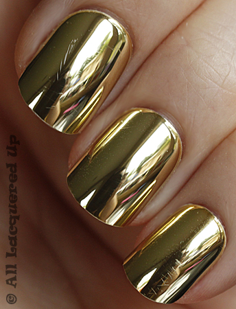 dashing diva design nail gold chrome Dashing Diva Design Nails on the Go