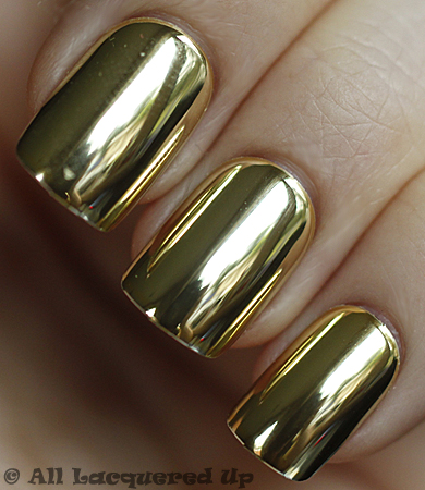 dashing diva design nails gold chrome Dashing Diva Design Nails on the Go