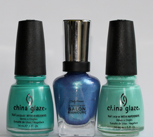 notd china glaze for audrey flyin high My 2010 Wedding Season Mani Pedi Combination