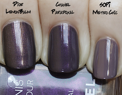 chanel-paradoxal-comparison-swatch-dior-metro-chic