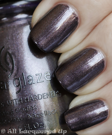 china glaze bogie swatch vintage vixen fall 2010 China Glaze Vintage Vixen Hotsy Totsy Swatches & Review