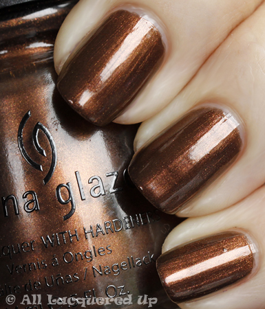 china glaze goin my way swatch vintage vixen China Glaze Vintage Vixen Cats Meow Swatches & Review