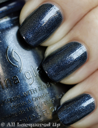 china glaze midnight mission vintage vixen cats meow China Glaze Vintage Vixen Cats Meow Swatches & Review