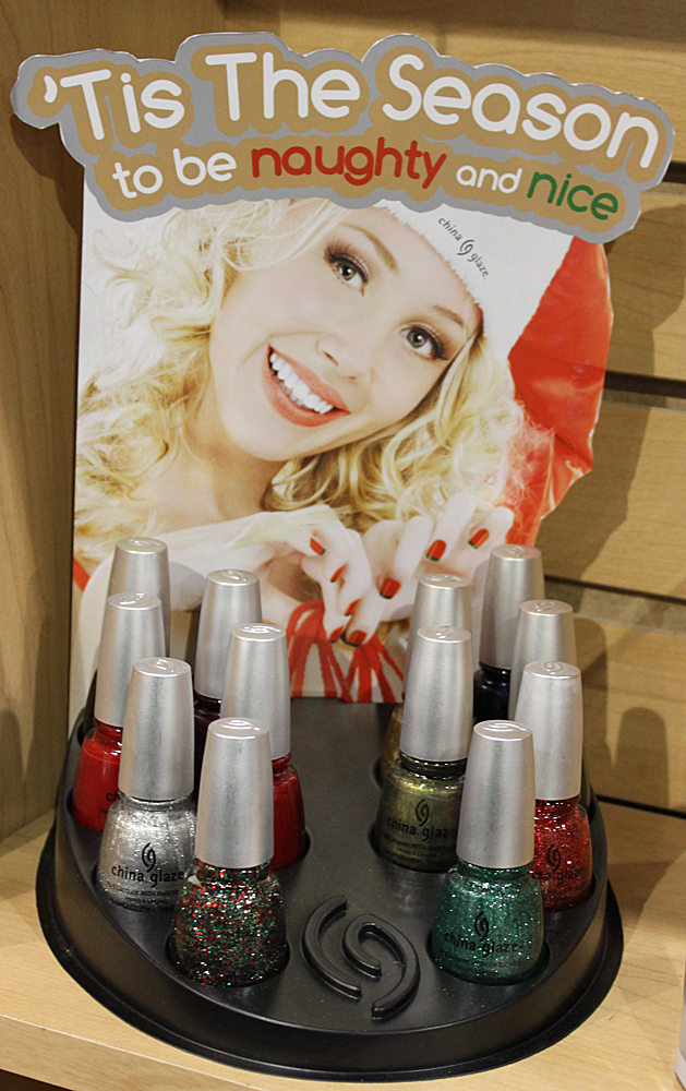 china glaze tis the season to be naughty or nice Cosmoprof 2010 Day 1 Recap