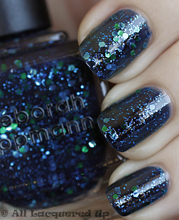 deborah lippmann across the universe swatch fall 2010 Deborah Lippmann Fall 2010   Across The Universe & Bad Romance Swatches & Review