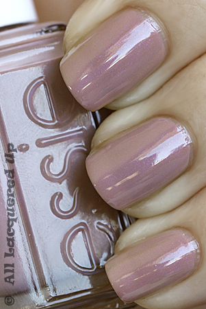 essie demure vixen nail polish swatch Essie Summer 2010 Swatches & Review