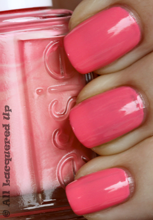 essie knockout pout nail polish swatch Essie Summer 2010 Swatches & Review