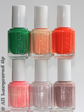 essie summer 2010 collection bottles Essie Summer 2010 Swatches & Review