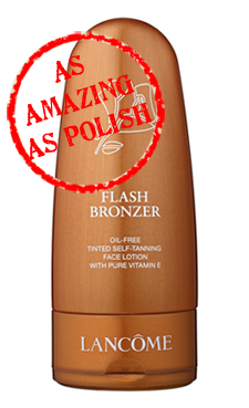 lancome flash bronzer face amazing as polish As Amazing As Polish   Lancôme Flash Bronzer Face