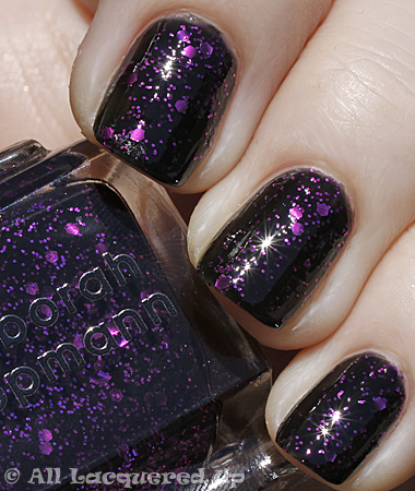 lippmann bad romance swatch fall 2010 Deborah Lippmann Fall 2010   Across The Universe & Bad Romance Swatches & Review