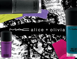 mac alice olivia nail lacquer collection MAC Alice + Olivia Collection Nail Lacquer Swatches & Review