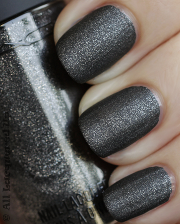 mac military matte nail polish swatch from the alice & olivia collection