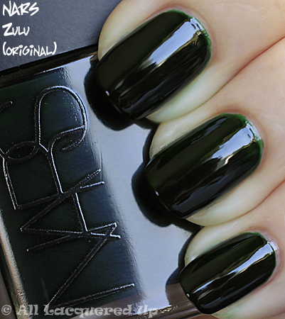 nars zulu green jelly nail polish swatch part of the nars fall 2010 makeup collection