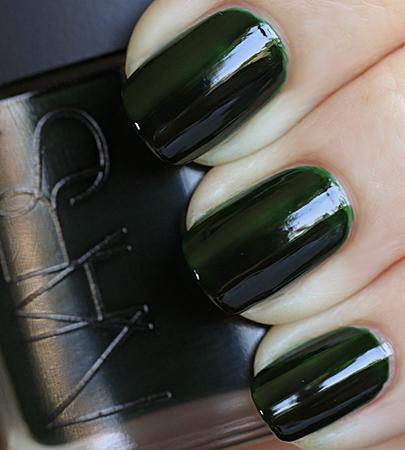 nars zulu nail polish swatch