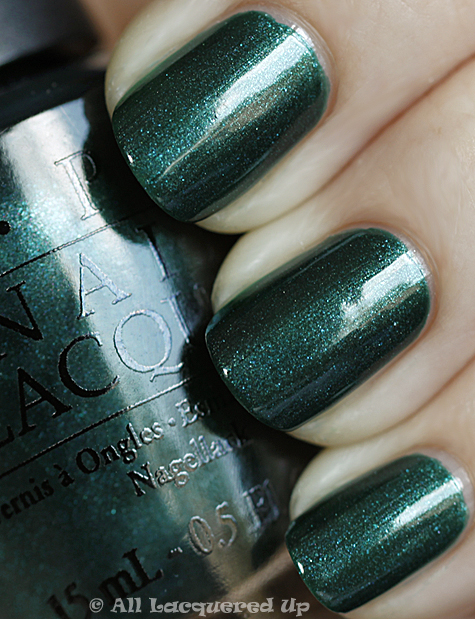 opi cuckoo for this color swatch from the opi swiss collection for fall 2010
