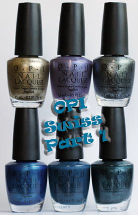 opi swiss collection fall 2010 bottles part 1 OPI Swiss Collection for Fall 2010   Part 1 Swatches & Review