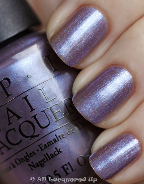 opi the color to watch swatch from the opi swiss collection for fall 2010