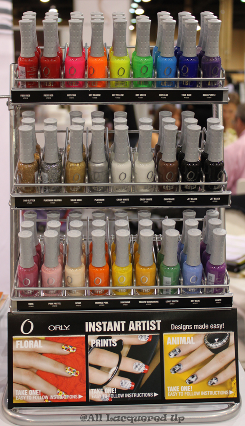 orly instant artist display Cosmoprof 2010 Day 2 Recap