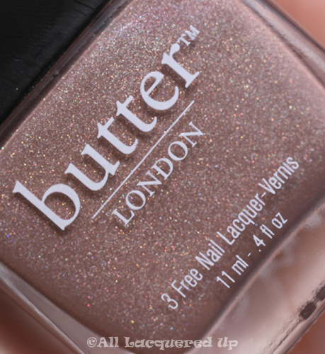 butter london all hail mcqueen holographic glitter butter LONDON Fall 2010 Collection Swatches & Review