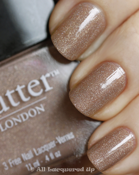 butter london all hail mcqueen nail polish swatch from the butter london fall 2010 collection