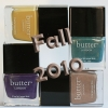 butter LONDON Fall 2010 Collection Swatches & Review