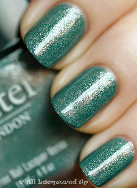 butter london victoriana nail polish swatch from the butter london fall 2010 collection