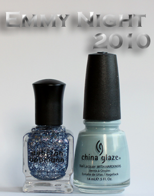 china glaze sea spray lippmann today was a fairytale An Emmy Worthy Manicure   China Glaze Sea Spray & Deborah Lippmann Today Was A Fairytale