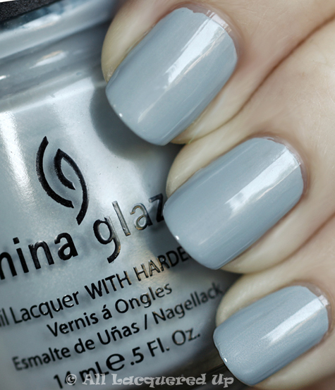china glaze sea spray swatch anchors away spring 2010 An Emmy Worthy Manicure   China Glaze Sea Spray & Deborah Lippmann Today Was A Fairytale