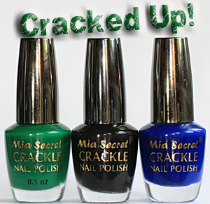 crackle nail polish mia secret All Cracked Up with Crackle Nail Polish