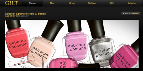 Click to visit Deborah Lippmann on Gilt.com