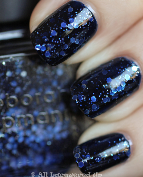 deborah lippmann lady sings the blues swatch from the all that jazz set