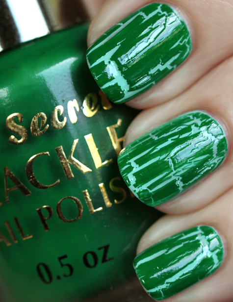 green crackle nail polish mia secret All Cracked Up with Crackle Nail Polish