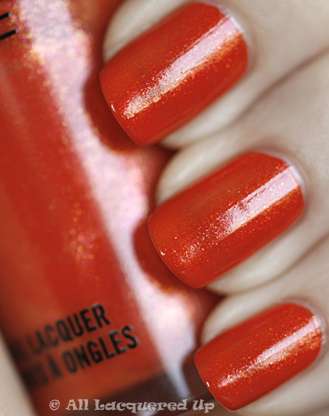 mac imperial flower swatch nail trend 10 MAC Nail Trend F/W 2010 Swatches & Review