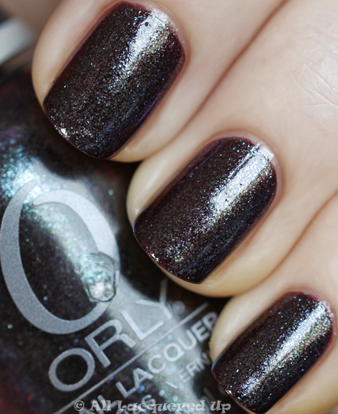 orly galaxy girl swatch from the orly cosmic fx collection for fall 2010