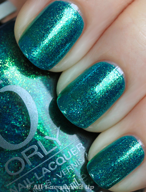 orly halley's comet swatch from the orly cosmic fx collection for fall 2010