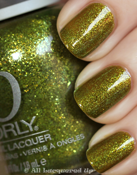 orly it's not rocket science swatch from the orly cosmic fx collection for fall 2010