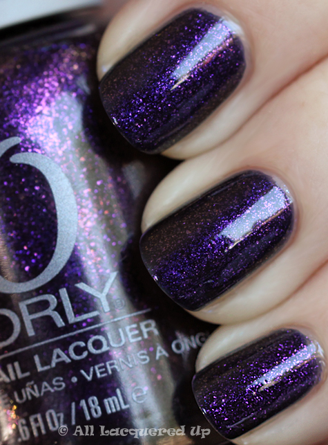 orly out of this world swatch cosmic fx Orly Cosmic FX Fall 2010 Collection Swatches & Review